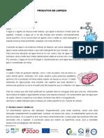 Texto Informativo Prod Limpeza