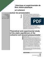 RFG 1995 Pressiometre & cohesion