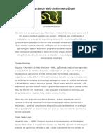 A Situação Do Meio Ambiente No Brasil