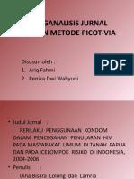 MENGANALISIS JURNAL DENGAN METODE PICOT-VIA