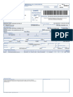 NF REMESSA DE LOCAÇÃO - CCB - RE165