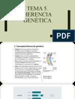 tema 5. herencia genética
