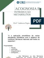 Farmacognosia B