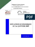 Situation économique au 1er Janvier 2005 (INSTAT/2005)