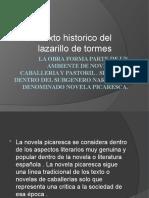 contexto historico social del lazarilo de tormes