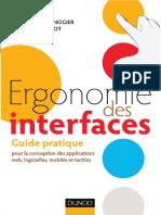 Ergonomie des interfaces _ Guide pratique pour la conception des applications web, logicielles, mobiles et tactiles