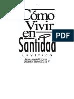 [p 1] ESTUDIOS BÍBLICOS ELA_ CÓMO VIVIR EN SANTIDAD (LEVÍTICO)