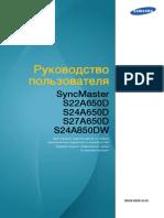 Monitor Samsung A850 BN46-00081A-Rus