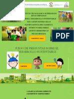 Juego Desarrollo Sustentable