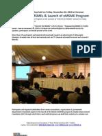 MSME Event Report 26-11-2010-Varanasi
