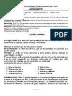 CIENCIAS NATURALES 1. 3 SISTEMA DIGESTIVO