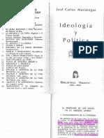 Mariátegui, Ideología y política