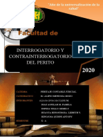 Interrogatorio y Contrainterrogatorio Aliaga Diaz. Espeza. Huayta Hinojosa