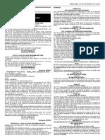 DECRETO Nº 1.064, De 28 de SETEMBRO de 2020 - Regulamenta a Lei Estadual Nº 7.638, De 12 de Julho de 2012, e Dá Outras Providências.