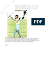 article on sachin
