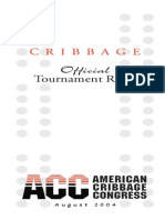Cribbage Rule Book