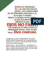 La victoria de Cristo es nuestra paz