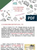 CLASSICISMO - IGUAL DO LIVRO