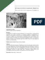 Barrera, S. Realidad virtual. Cueva Santimamiñe. 2008