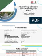 INDUCCCIÓN ESTUDIANTES ESPECIALIZACION 2021-01