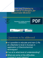 Argyropoulos V. Education Electrochemical Techniques. 2010