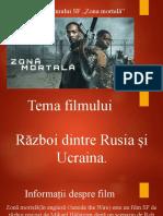 """Prezentarea filmului SF """"Zona mortală"""""""
