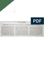 Piazzale Lavater si posteggia al Parlamento Europeo - 20110305_Il Giornale