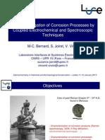 Bernard, M.C. Et Al. Investigation Corrosion Electrochemical Techniques. 2010