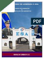 MANUAL DO CANDIDATO 2021 ESA