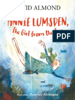 Annie Lumsden, the Girl from the Sea by David Almond Chapter Sampler