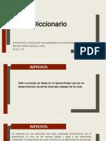 Diccionario. Benítez Acedo Adriana Lizeth
