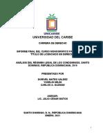 Informe Final Regimen de Condominio (2021) Modif.