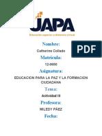 TAREA 3 EDUCACION PARA LA PAZ