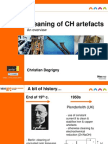 Degrigny, C. Cleaning CH Artefacts Overview. 2010