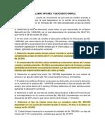 Unidad 1-5 MAS PROBLEMAS INTERÉS Y DESCUENTO SIMPLE - copia
