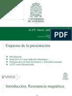 ALFF Origen, Interés y Utilidad