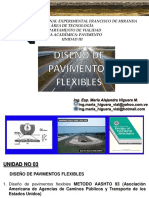 Unidad III Diseno de Pav Flexibles Aashto 93 Material Didactivo Plan Casa 2020