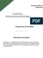 Chapter 1 Petroleum Processing