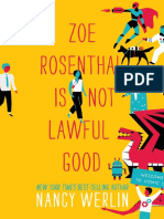 Zoe Rosenthal Is Not Lawful Good by Nancy Werlin Chapter Sampler