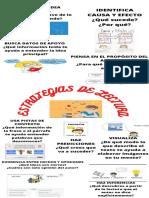 Infografía de Estrategias de Lectura