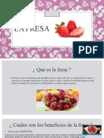 Exposición de La Fresa y El Aguacate
