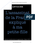 Antigone Assassin At de La France