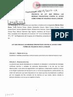LP-Proyecto-de-Ley-N°-2845-2017-CR -ACOSO SEXUAL