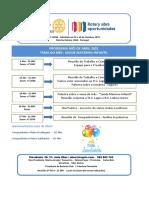 Rotray Programa Abril 2021
