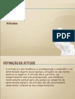 Definição de Atitude