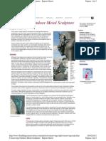 Harris, R. Conserving Outdoor Metal Sculpture. 2006