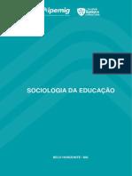 SOCIOLOGIA DA EDUCAÇÃO - IPEMIG