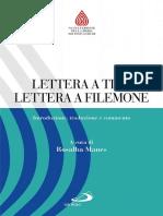 51- Lettera a Tito. Lettera a Filemone, R. Manes