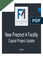 Precinct 4 Facility