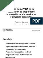 REGULACIÓN ANVISA-CHILE CONCLUÍDA